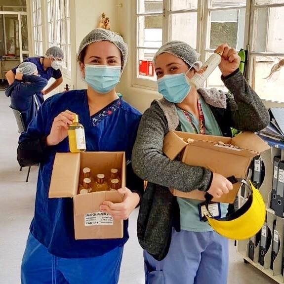 Donación Hospital Del Salvador