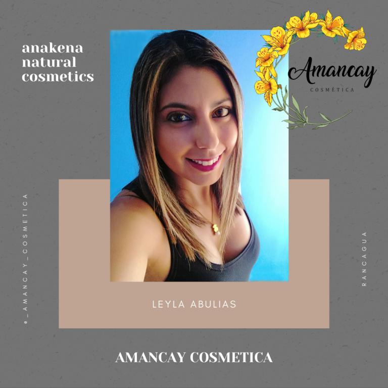 Leyla Abulias Amancay cosmetica