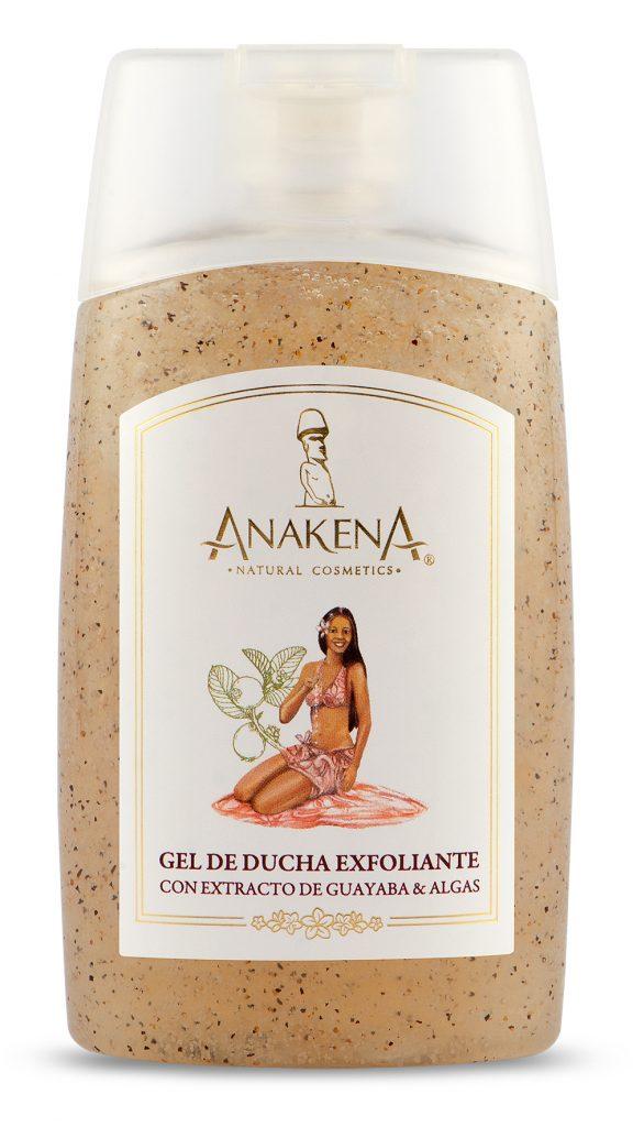 Gel Ducha Exfoliante Anakena